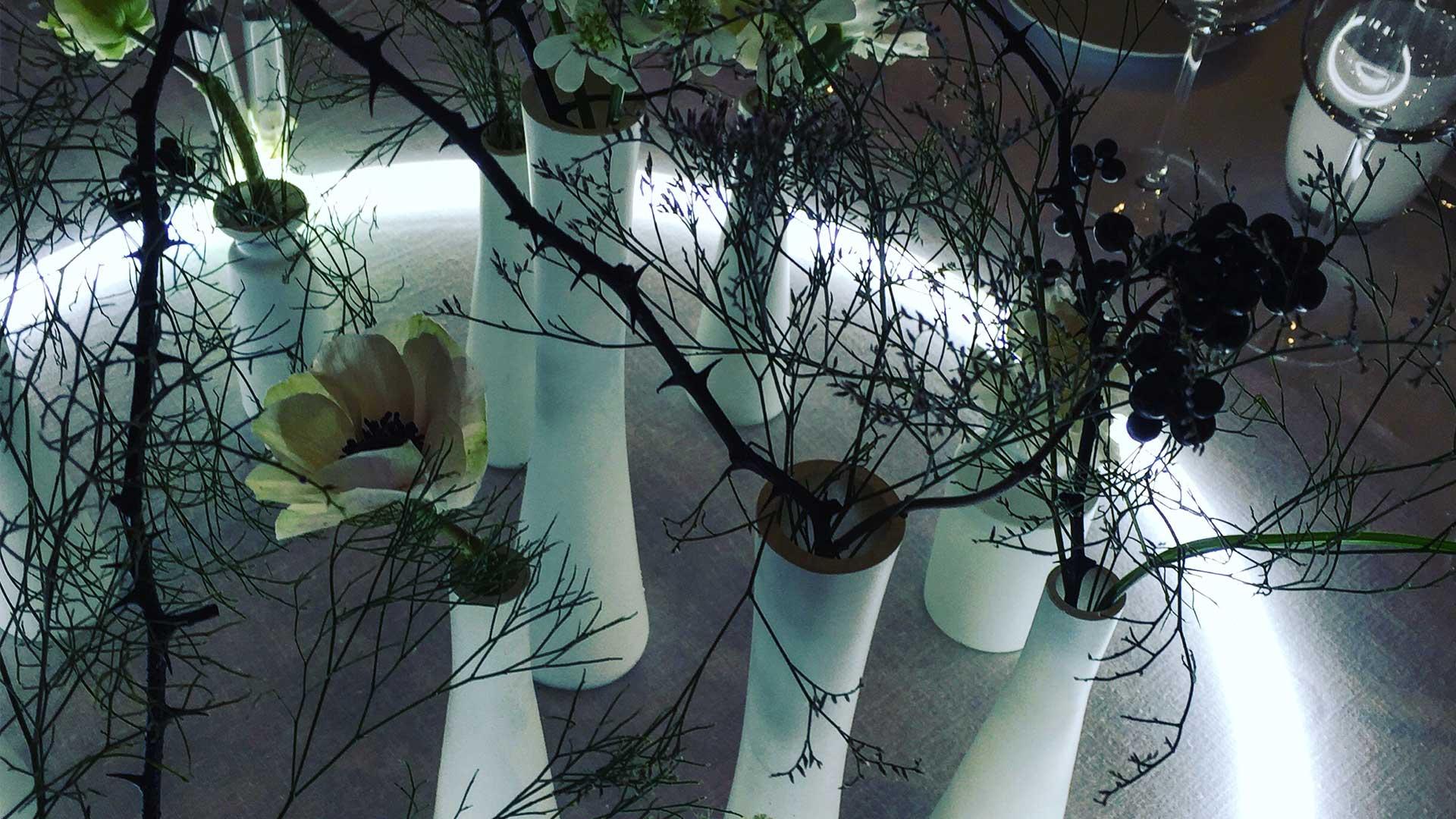 Scénographie végétale Givenchy Studio Marianne Guedin