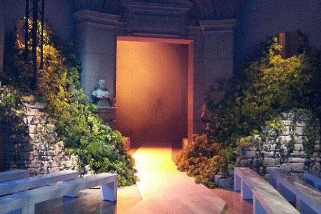 Scénographie végétale Loewe Studio Marianne Guedin