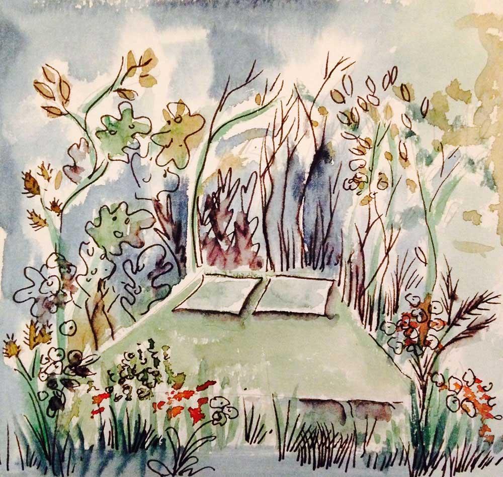 Scénographie végétale Monceau Fleurs Studio Marianne Guedin
