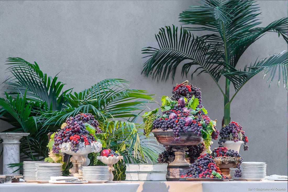 Scénographie végétale Valentino Studio Marianne Guedin