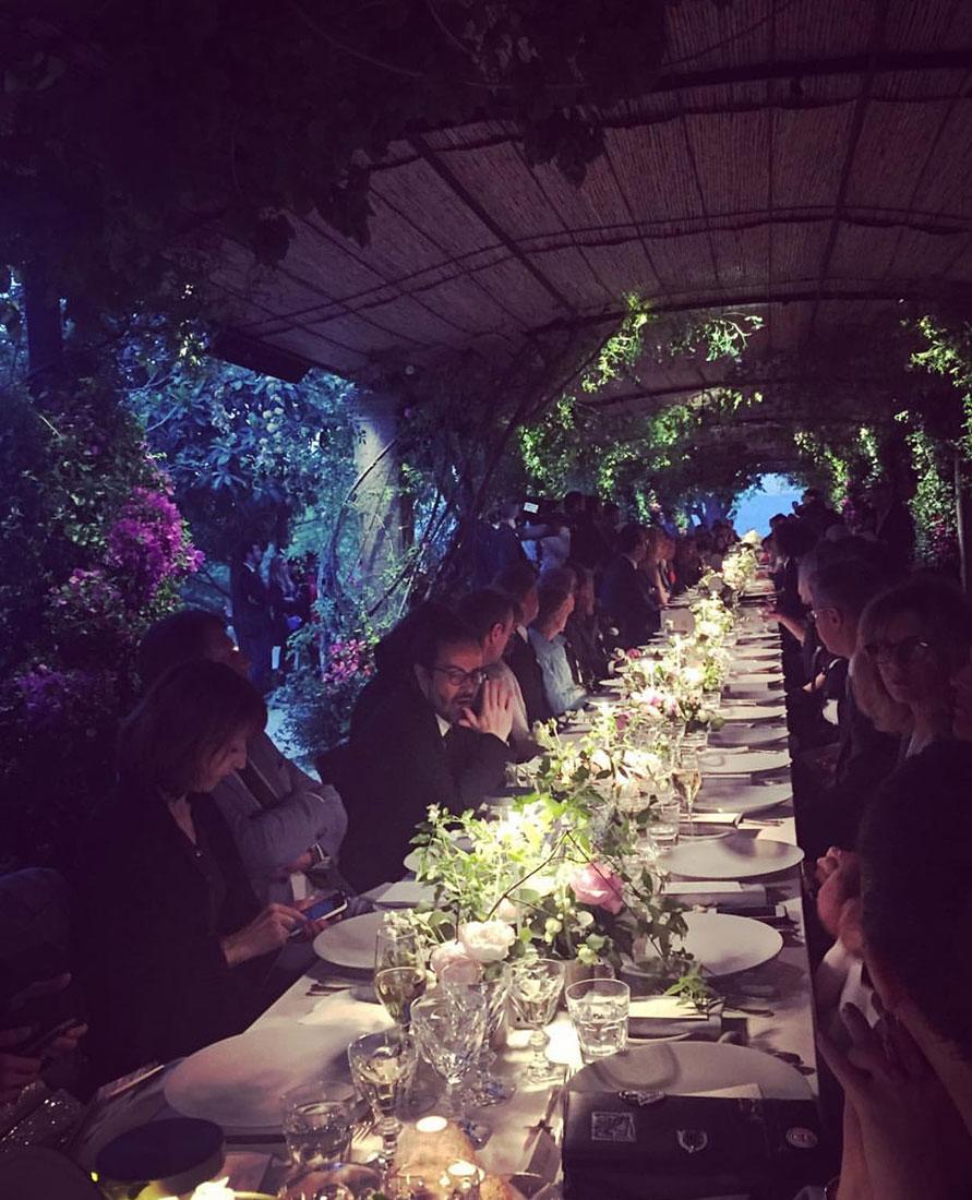 Scénographie végétale Dior Marianne Guedin