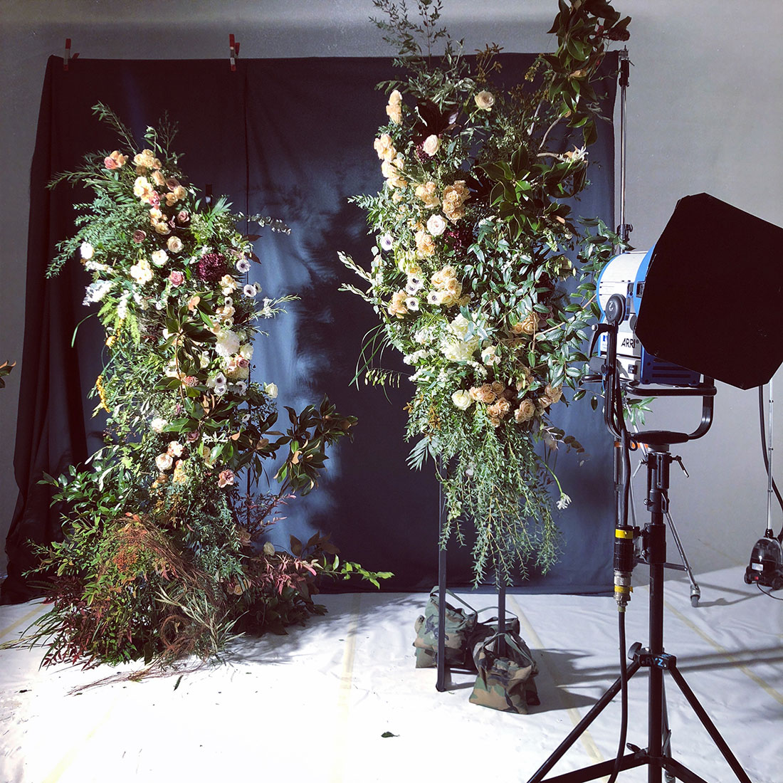 Scénographie végétale Dolce & Gabbana Marianne Guedin