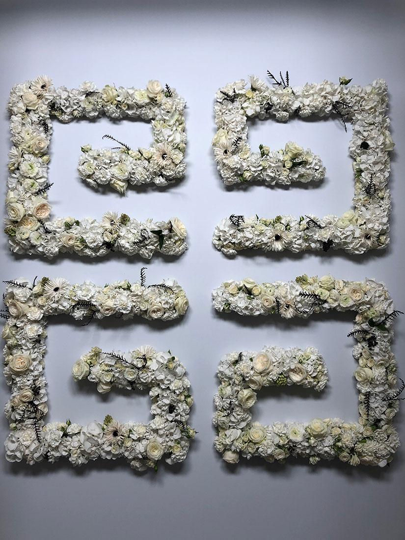 Scénographie végétale Givenchy Marianne Guedin
