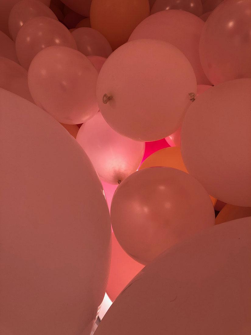 Création nuages rétro-éclairés Marianne Guedin