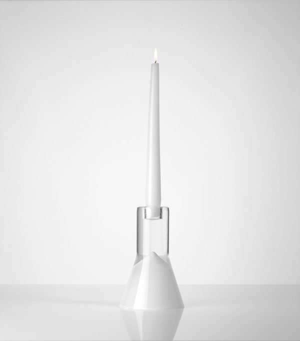 Vase vice versa blanc simple Marianne Guedin bis