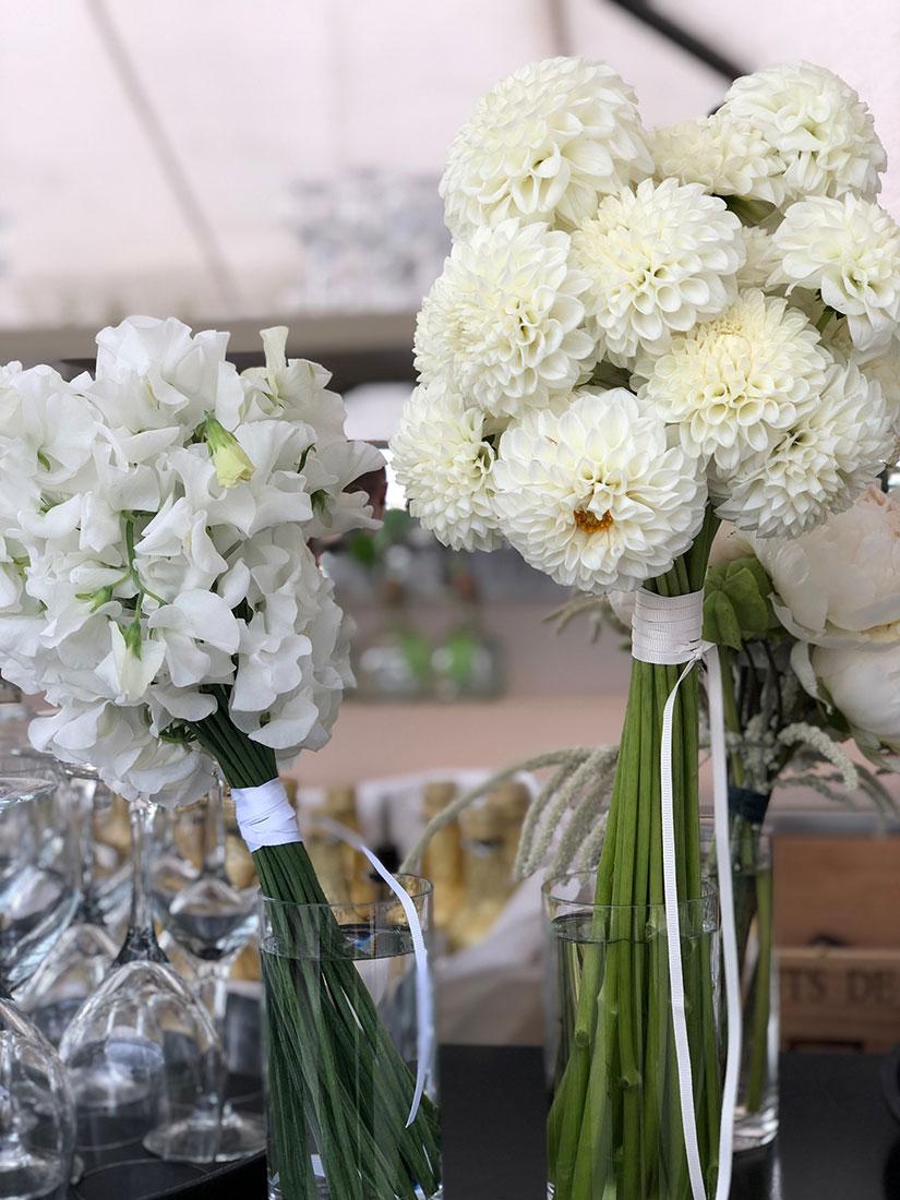 Mariage au Louvre fleur en vase
