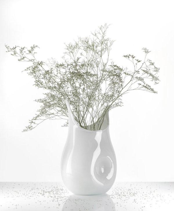 Vase Totoro blanc Marianne Guedin bis
