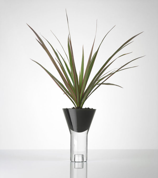 Vase vice versa noir simple Marianne Guedin bis